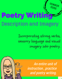 Poetry Writing: Using Description and Imagery Unit