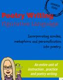 Poetry Writing: Using Figurative Language