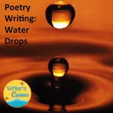 Writing Water Drop Poetry: Science, Substitute Plan, Fun, Writing Fluency