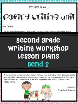 Poetry Writing Workshop Bend 2 Grade 2