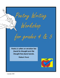 Poetry Writing Workshop for 4th & 5th grades
