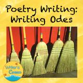 Writing Odes, Creative Writing, Fun Stuff, Substitute Plan, CCSS