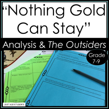 """""""Nothing Gold Can Stay"""" and The Outsiders"""