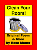 Clean Your Room Fun Poetry Packet