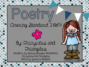 Poetry aligned with CCSS