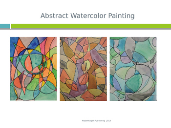 Art: Abstract Watercolor Painting