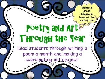 Poetry and Art Through the Year - A Once a Month Plan