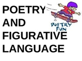 Poetry and Figurative Language (Poetry Week)