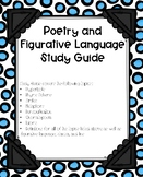 Poetry and Figurative Language Study Guide