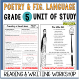 Poetry Unit of Study Grade 5: 2nd Edition!
