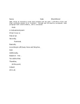 Poetry and Informational Writing