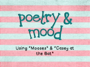 Poetry and Mood