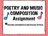Poetry and Music Composition