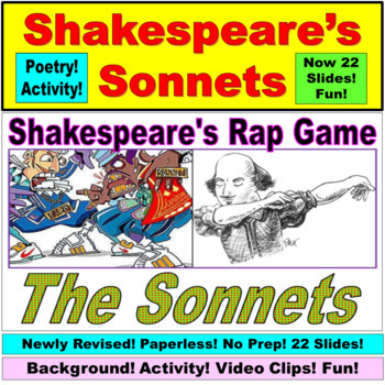 Poetry and Shakespeare : The Sonnet