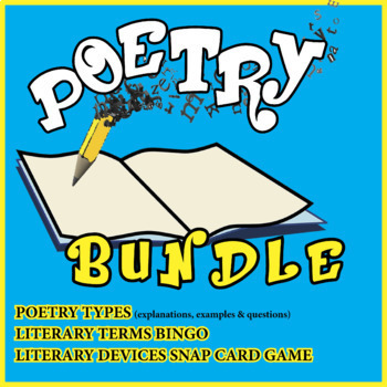 Poetry bundle bonanza: activities and games