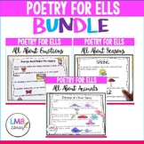 Poetry for ELLs-BUNDLE