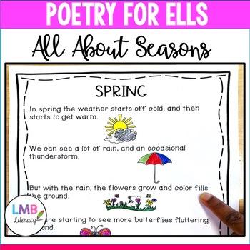 Poetry for ELLs-Seasons