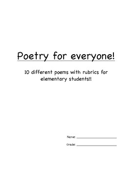 Poetry for Everyone!