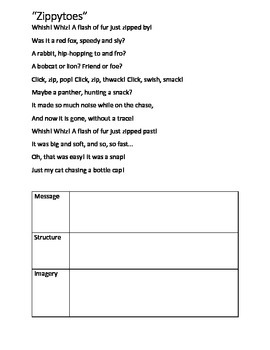 Poetry for First Grade - Student Packs