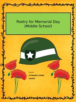 Freebie Memorial Day Poetry