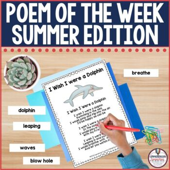 A Poem a Week Summer Edition