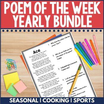 Poem of the Week Yearly Bundle