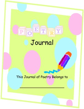 Poetry Journal for the Classroom