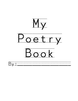 Poetry for the entire year- GROWING PACKET!!
