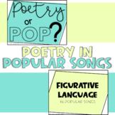 Poetry in Popular Songs