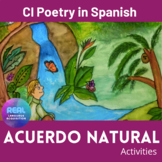 Earth Day in Spanish - Poetry - Acuerdo Natural - Games an