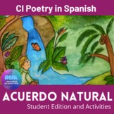 Earth Day in Spanish - Acuerdo Natural - Student edition +