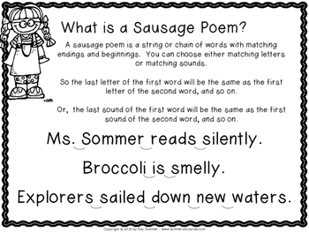 Poetry {sausage poems}