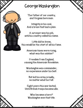 Poetry that Teaches-Historical U.S. Presidents