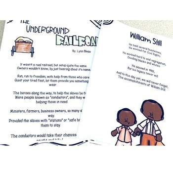 Poetry that Teaches-The Underground Railroad