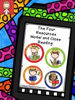 "4R Model & close reading - Poetry - ""Snake"" - comprehending figurative language"