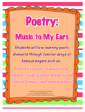 Poetry and Figurative Language Through Contemporary Songs