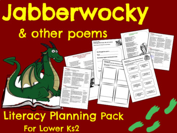 Jabberwocky - Poetry Planning Pack