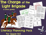 The Charge of the Light Brigade - Poetry Planning Pack