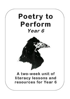 Poetry to Perform, Year 6 (5th Grade) - Edgar Allan Poe