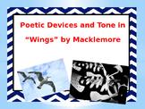 """Poetry using """"Wings"""" by Macklemore"""