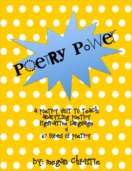 PoetryUnit - Writing and Analyzing Poetry and Figurative Language