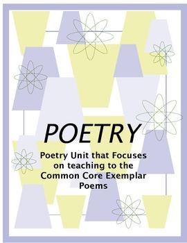 PoetryUnitOfCommonCoreExemplarUnits