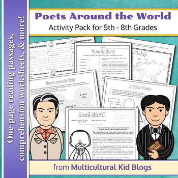 Poets Around the World Activity Pack