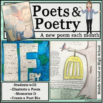 Poets & Poetry - A New Poem Every Four Weeks