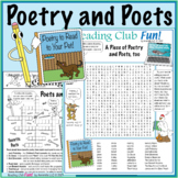 Poets and Poetry Puzzle Set
