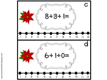 First Grade Math: 3-Addend Addition