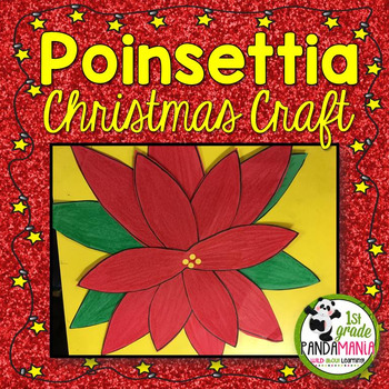 Poinsettia Christmas Craft