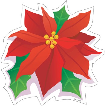 Poinsettia - Cut-Out Holiday Decor