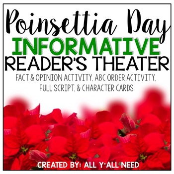 Poinsettia Day Informative Reader's Theater