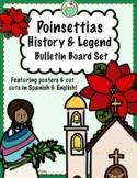 Poinsettia History & Legend Bilingual Bulletin Board Set